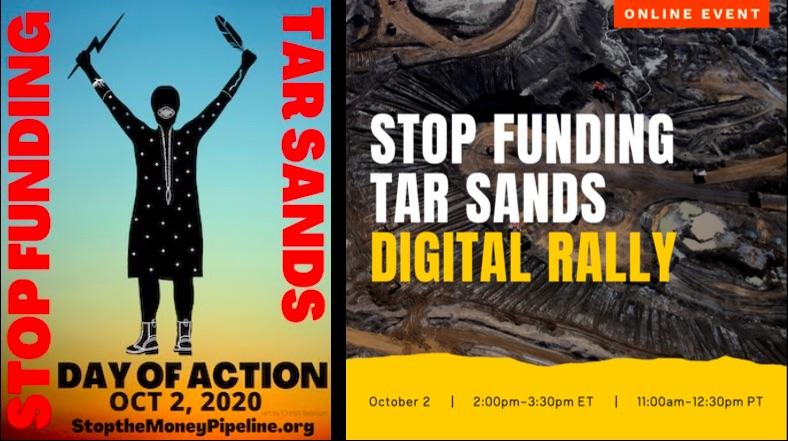 STOP FUNDING TAR SANDS @ Online